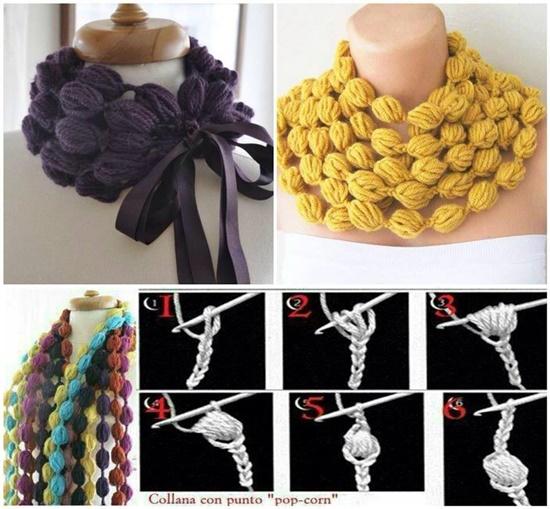 How-To-Crochet-Popcorn-Stitch-Scarf