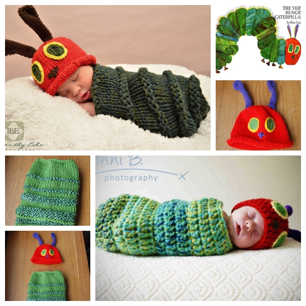 Hungry Caterpillar Superstar Awards 2015: Knitted Very Hungry Caterpillar Baby Cocoon