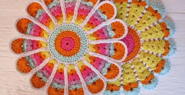 Mandala Potholder Crochet