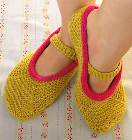 Mary Jane Slippers 4