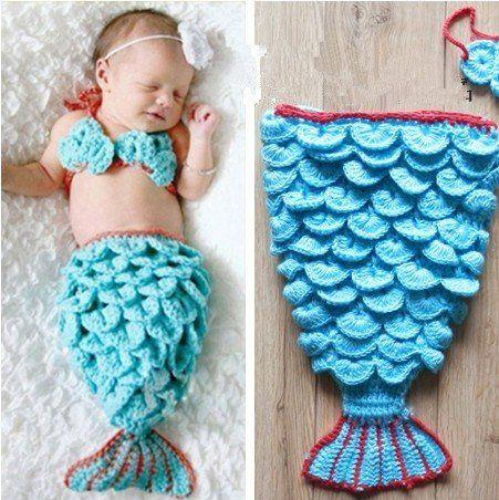 How To Crochet A Mermaid Tail Photo Prop