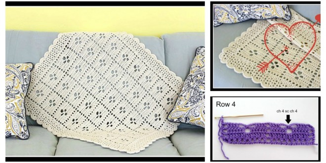 Midwife Afghan Baby Blanket Free Crochet Pattern