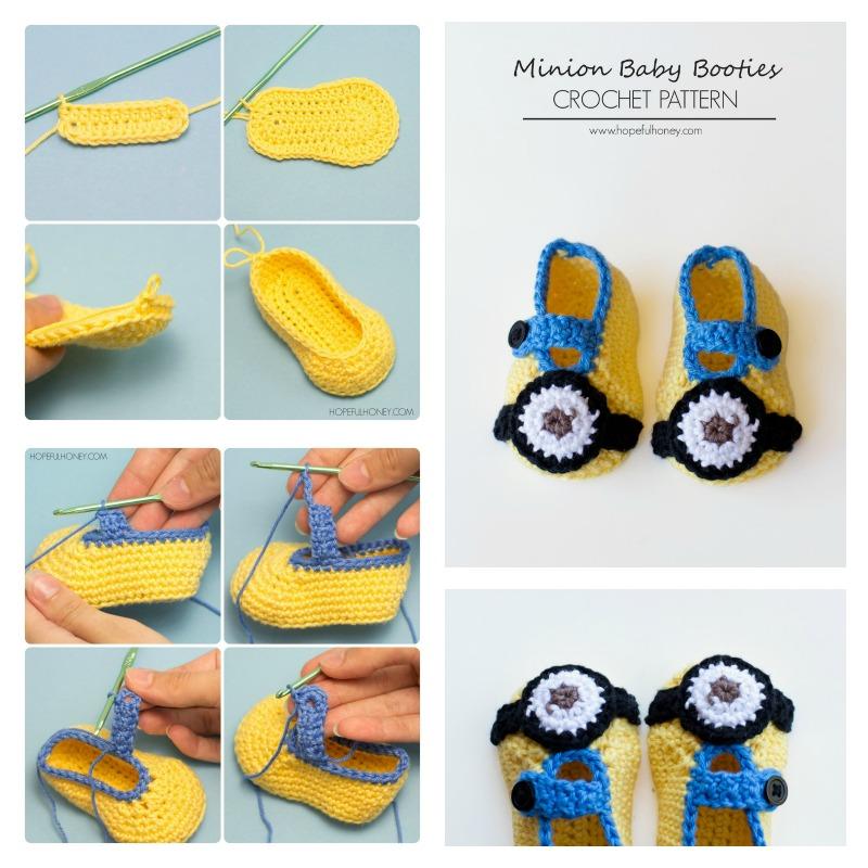 Beautiful Free Crochet Minion Patterns Images - Blanket Knitting ...