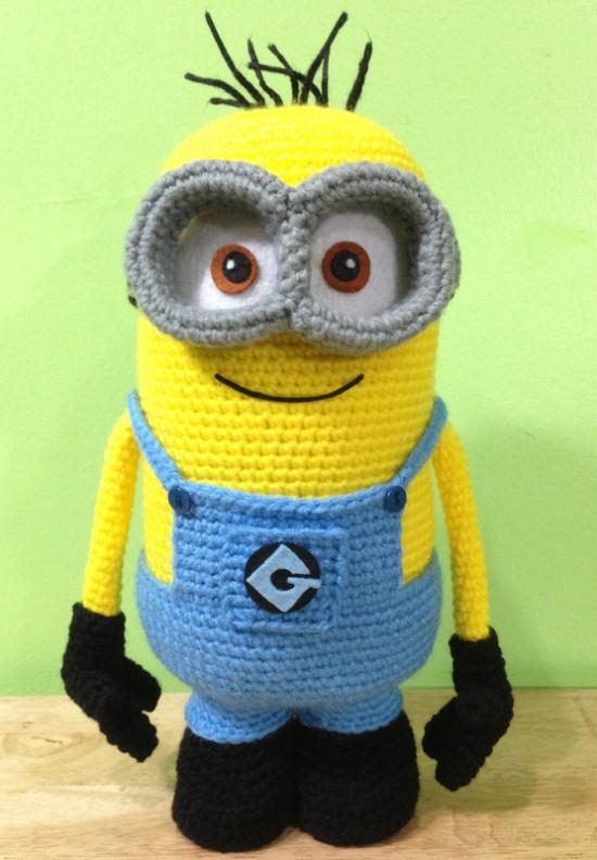 Minion FREE Crochet Patterns 2