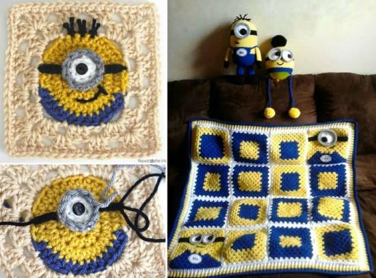 DIY Crochet Minion Free Patterns