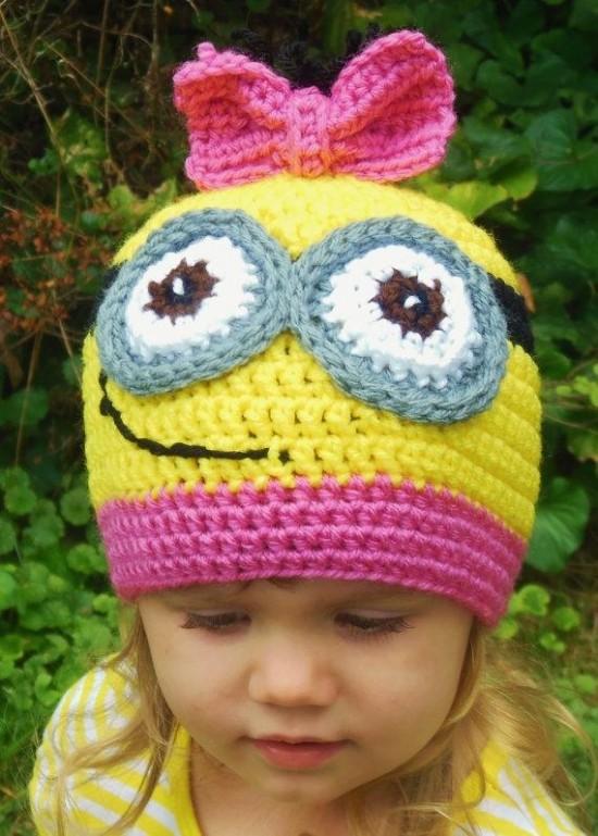 Minion Hat Free Crochet Patterns 2