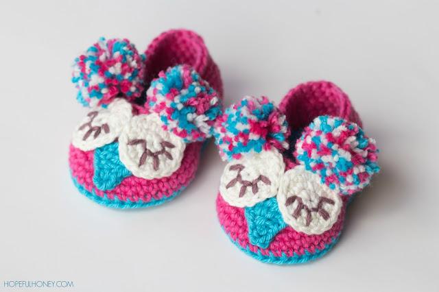 Owl-Baby-Booties-Crochet-free-Pattern