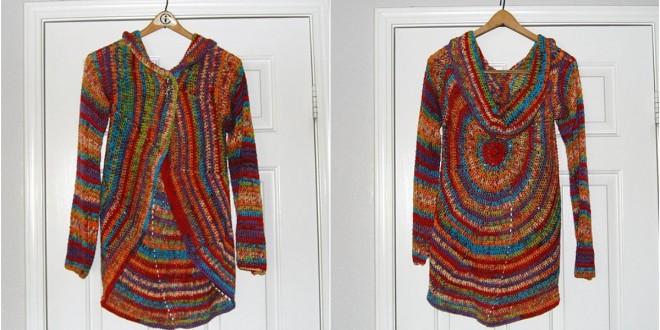 Pinwheel Sweater crochet
