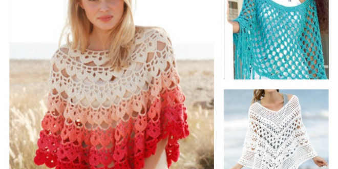 Poncho Free Crochet Patterns
