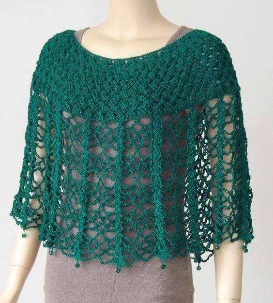 Poncho crochet ideas 1