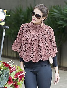 Poncho crochet ideas 2