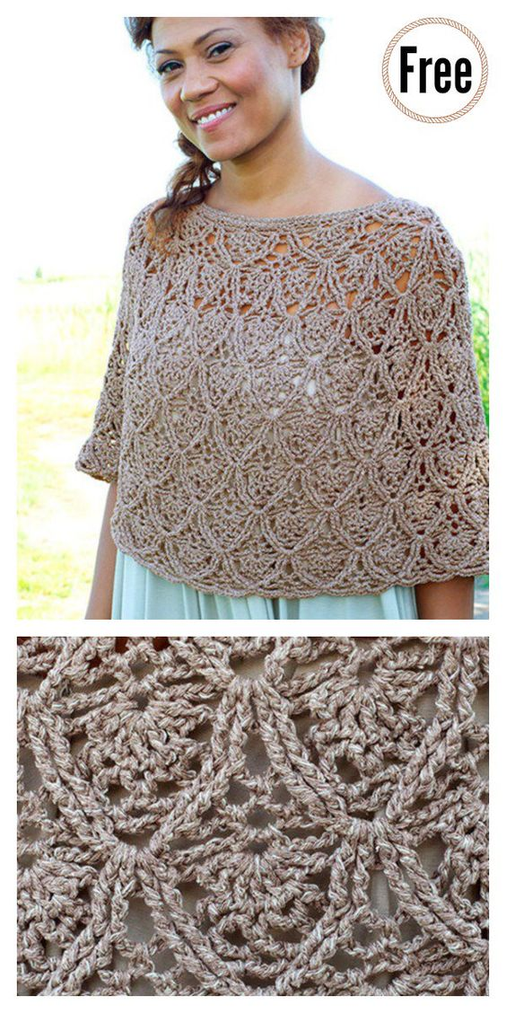 Poncho crochet ideas 3