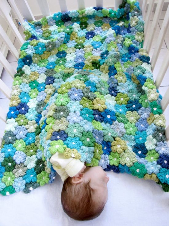 Puff Flower crochet 3