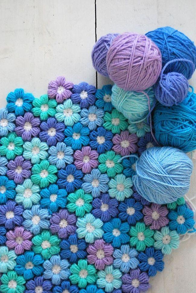 Puffy-Flower-Blanket