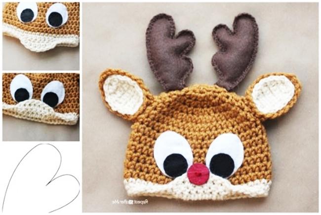 Free Amigurumi Pattern: Rudolph Christmas Reindeer — BuddyRumi   437x650
