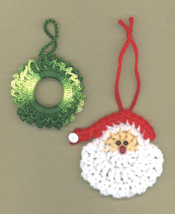 Santa-and-a-wreath