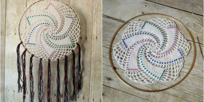 Star Dreamcatcher pattern