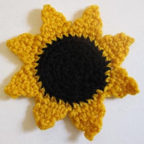 Sunflower-Pattern-crochet