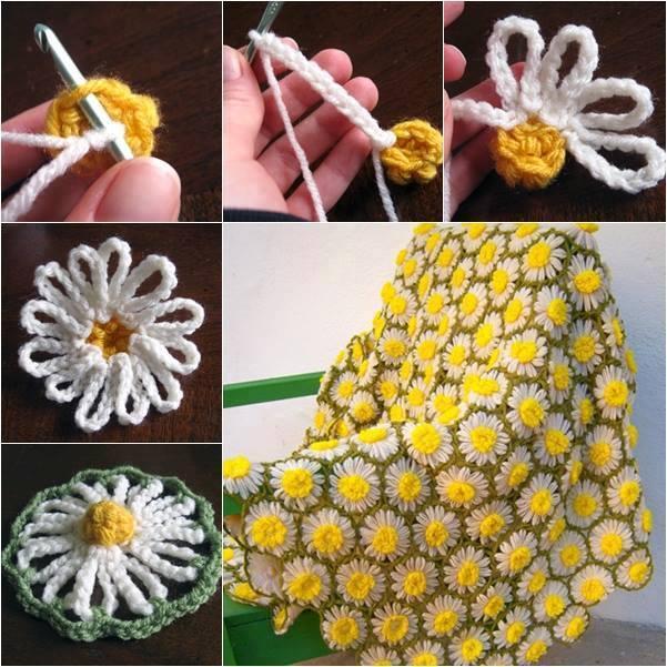 Sunflower-Throw-Free-Pattern
