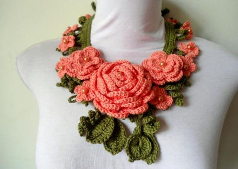 Using Flowers Croche 1
