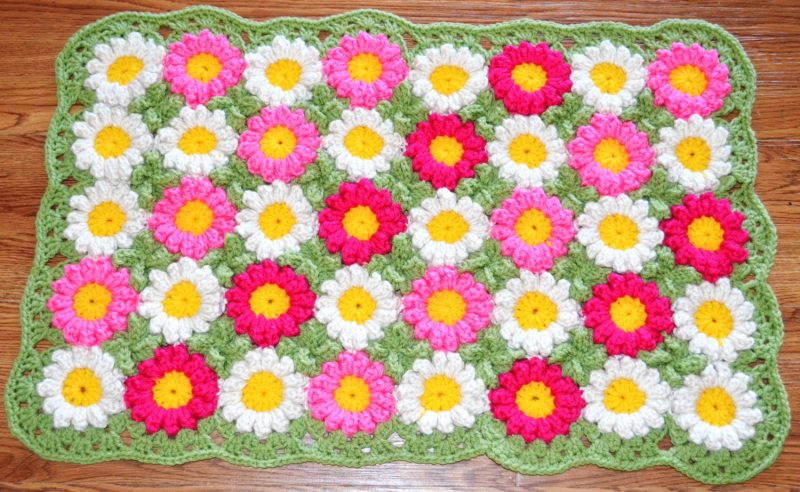 Using Flowers Croche 14