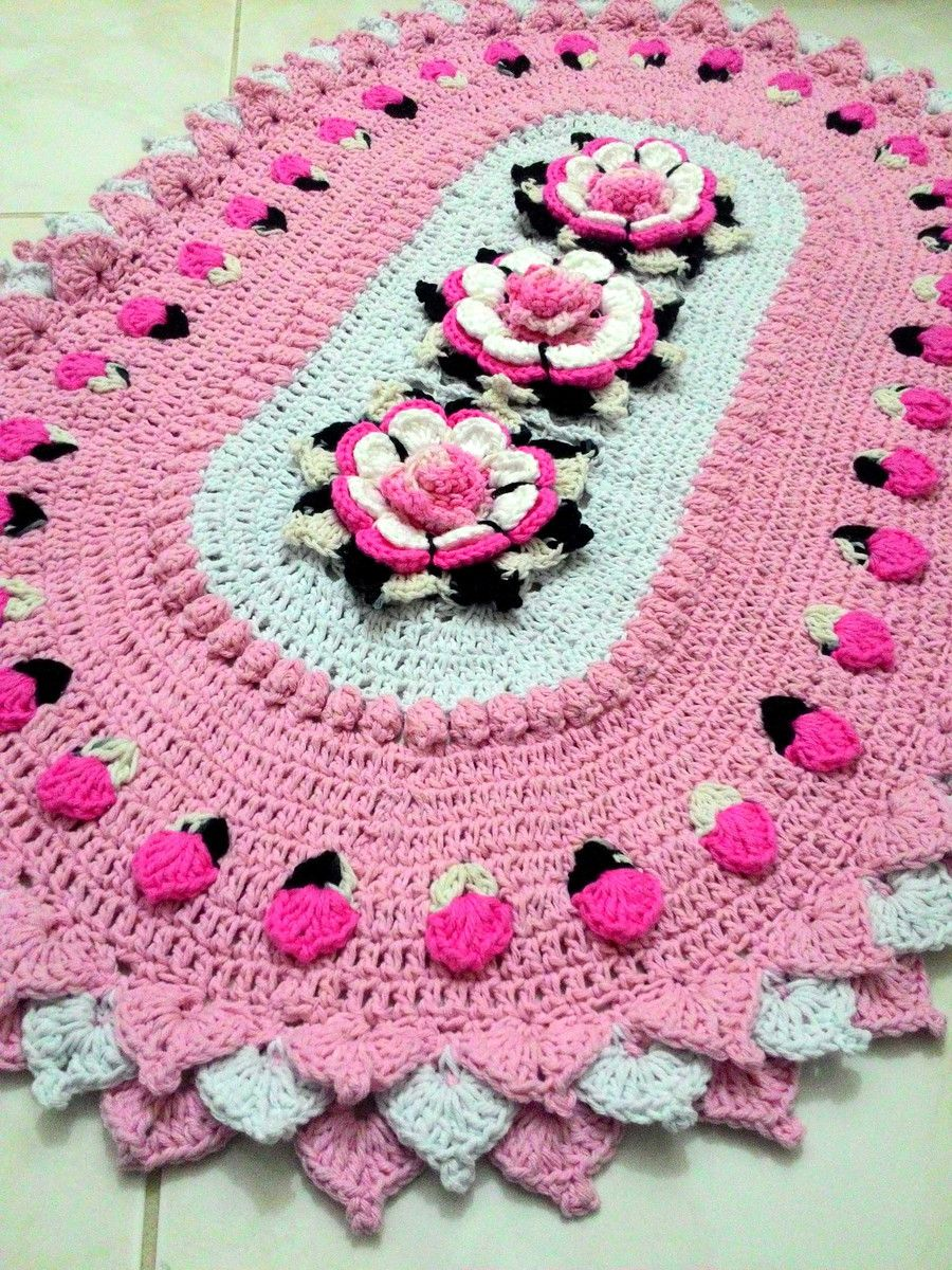 Using Flowers Croche 3