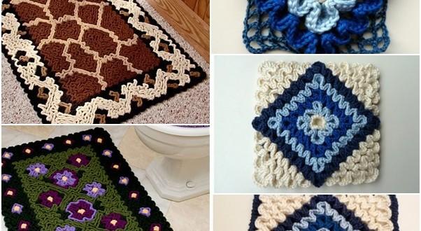 Wiggly Crochet Rug
