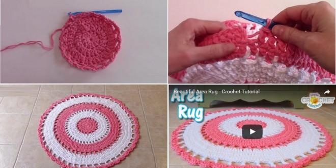 area rug crochet