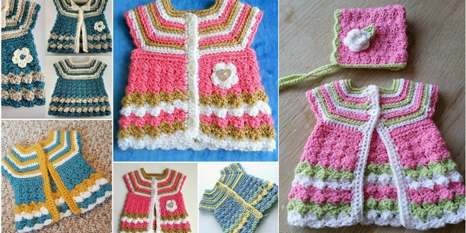 baby cardigan stripes