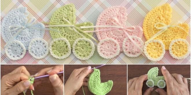 baby crochet aplique