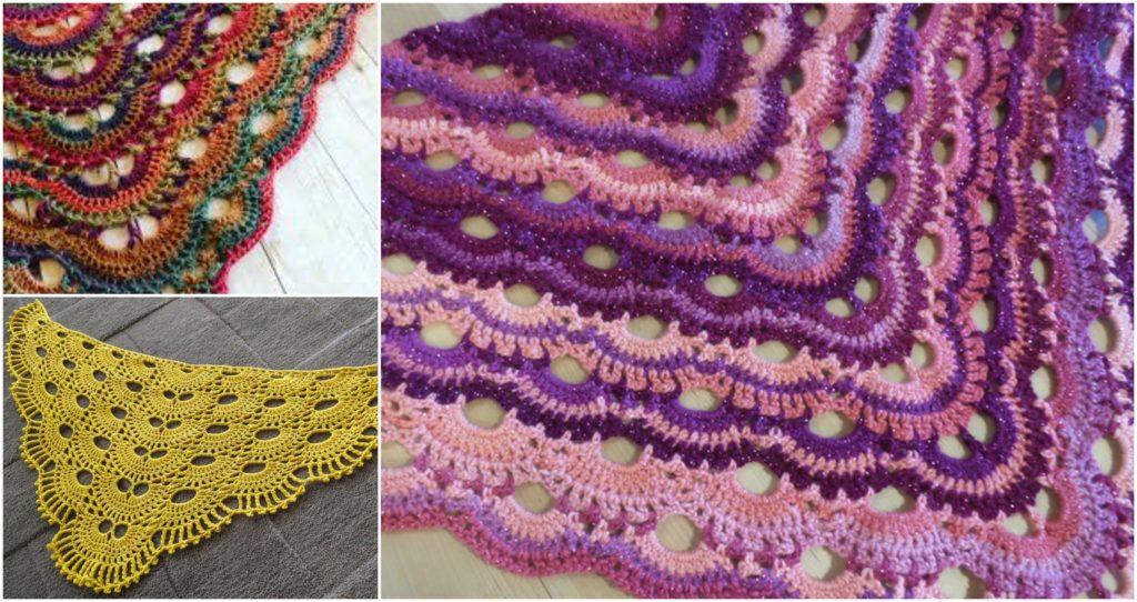 Crochet Beautiful Virus Shawl