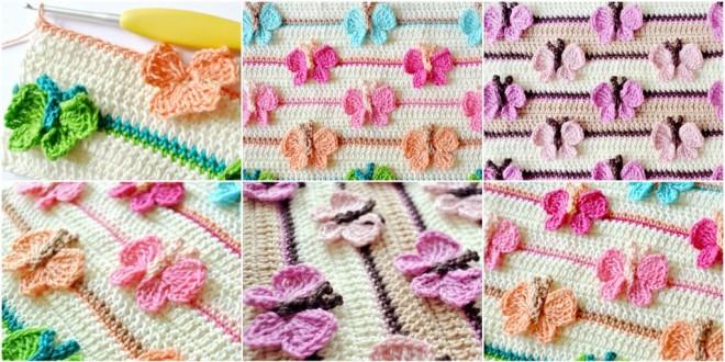 butterfly stitch crochet