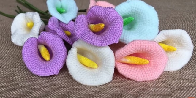 calla lily crochet