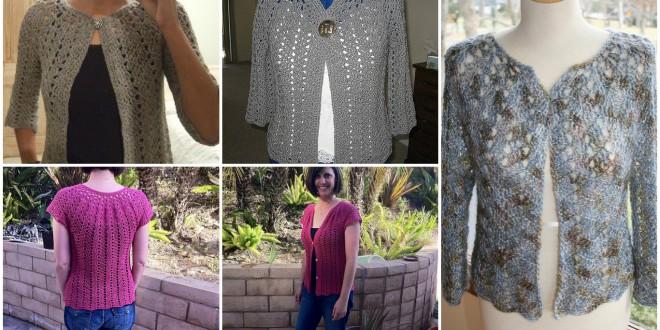 cardigan lace pattern