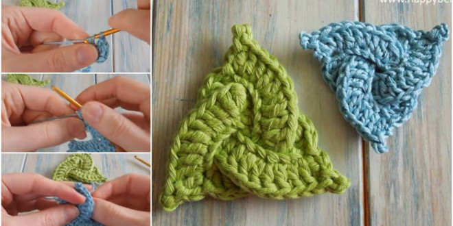 celtic triangle crochet