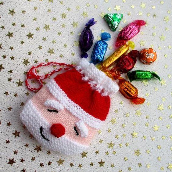 christmas crochet santa bag 10