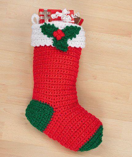 christmas crochet socks video ideas 1