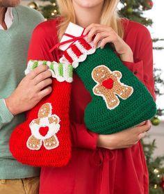 christmas crochet socks video ideas 10