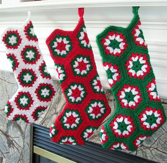 christmas crochet socks video ideas 3