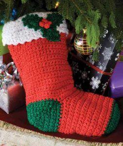christmas crochet socks video ideas 4