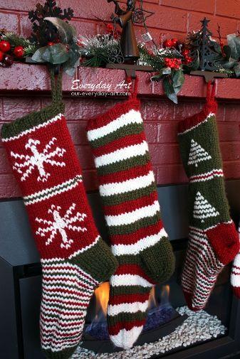 christmas crochet socks video ideas 7