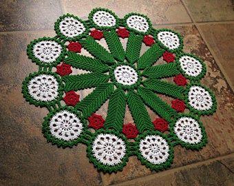 christmas doily crochet 2