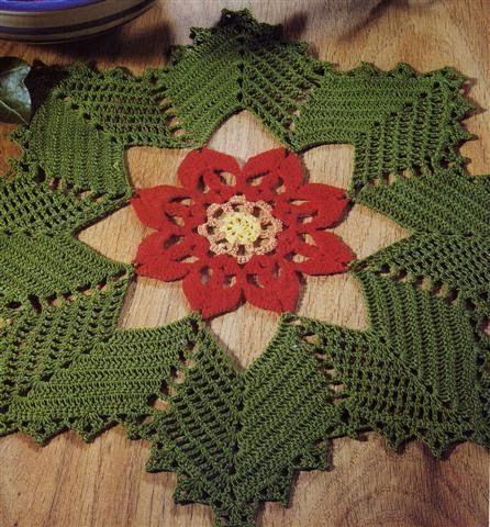 christmas doily crochet 3