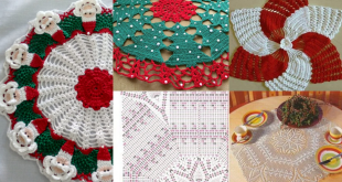 christmas doily crochet