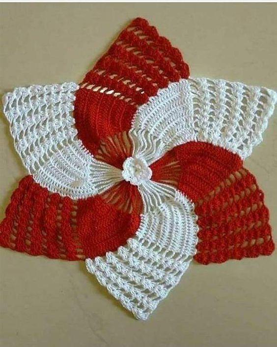 christmas doily crochet 6