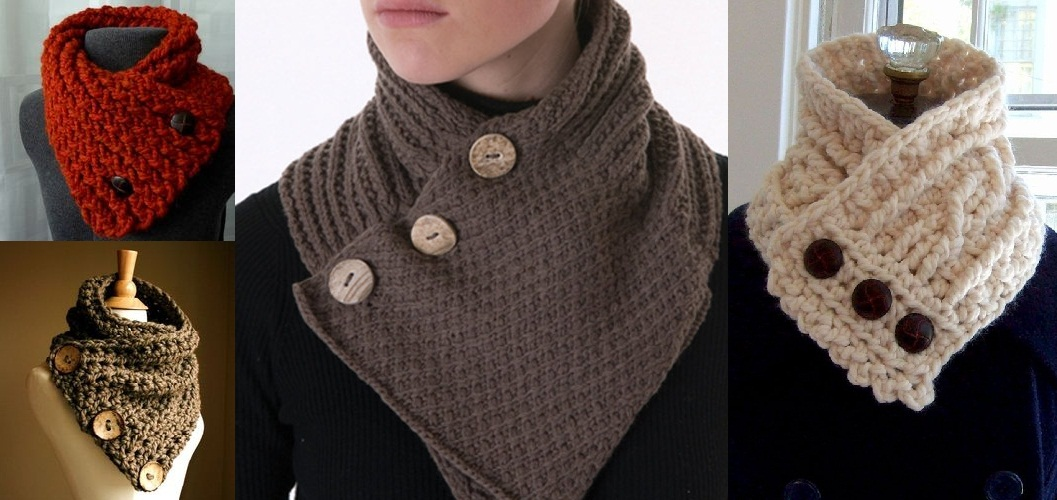 How To Crochet A Collar Scarf