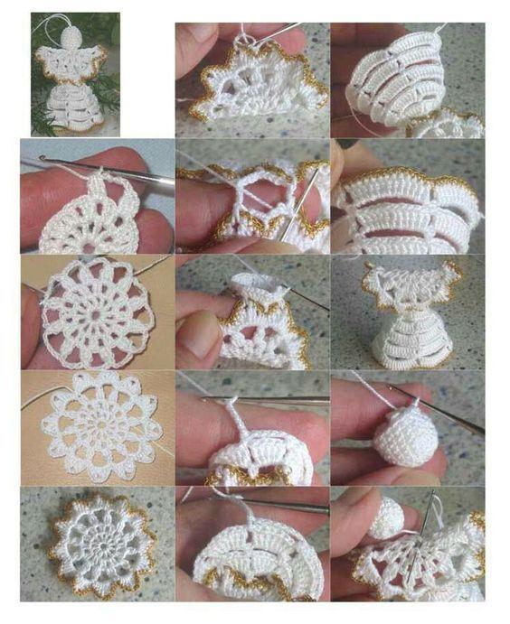 creative christmas crochet tutorials 5