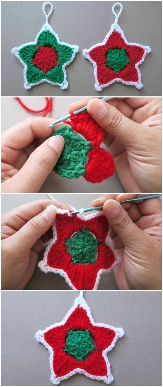 creative christmas crochet tutorials 6