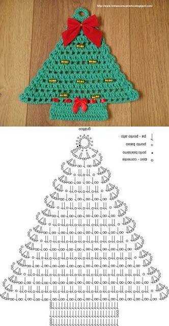 creative christmas crochet tutorials 7