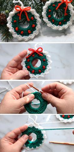 creative christmas crochet tutorials 9